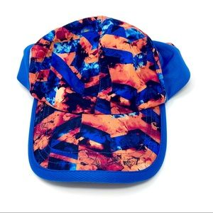 tek gear Accessories - Tek Gear Athletic Reflective Hat Blue Orange